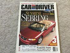 1995 Chrysler Sebring, Ford Mustang GT, Cavalier, Escort, Neon Magazine