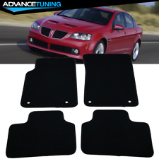 CFMBX1PN9260 Nylon Carpet Coverking Custom Fit Front and Rear Floor Mats for Select Pontiac Grand Am Models Black