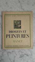 Album D'art - Drogues Et Peintures - N°1 - Manet