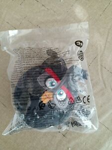 2021 Burger King Angry Birds - Plush - Black Bird  New In Package