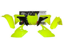 Racetech Plastik Komplett Kit Satz Teile Suzuki neongelb RMZ 250 2010 - 2017