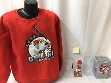 Shohei Ohtani  LA Angels SGA lot of 2-1) bobblehead 1)sweatshirt