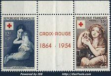 FRANCE QUART DE CARNET CROIX ROUGE N°2003 NEUF ** SANS CHARNIERE A VOIR  (BL)