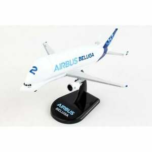 Postage Stamp Airbus Beluga A300-600ST Diecast Model - Scale 1:400