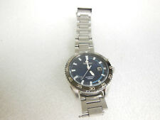 Seiko Kinetic Stainless Steel Watch (Unit Only) *Silver*