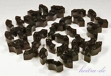 LEGO - 40 x Brunnenstein Viertelrundstein schwarz 2x2 / Macaroni / 85080 NEUWARE