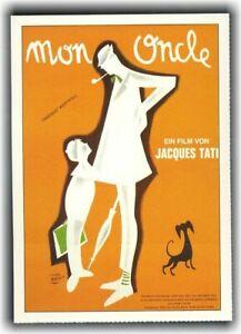 MEIN ONKEL ♦ 1957 ♦ CINEMA Filmkarte Karte ♦ Jacques Tati ♦ Jean Pierre Zola