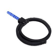 Adjustable Rubber Gear Ring Belt For DSLR Camera Camcorder Follow Focus Lens
