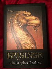 Brisingr Christopher Paolini First Edition Printing 1st/1st Sept 2008 HC DJ