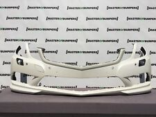 MERCEDES E CLASS AMG W207 CABRIO 2009-2012 FRONT BUMPER IN WHITE GENUINE [E105]
