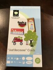 New listing Cricut Cartridge Just Because Cards