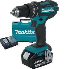 "18V LXT Li-Ion 1/2"" Hammer Driver-Drill Kit replaces XPH012 Makita XPH102 New"