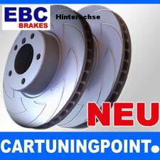 EBC Discos de freno eje trasero CARBONO DISC PARA VW CADDY 3 2kb bsd1284
