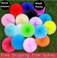 Tissue Paper Fan Pom Poms Honeycomb Ball Wedding Party Baby Room Living Decor