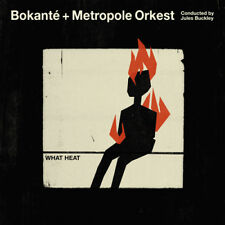 "Bokanté & Metropole Orkest & Jules Buckley : What Heat VINYL 12"" Album 2 discs"