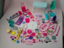 Barbie spares bundle, accessories, microphone, furniture, great condition!