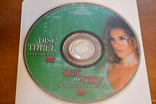 Sex and the City Sixth Season 6 Part One Disc 3 Replacement DVD Disc Only ***