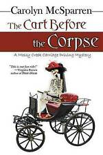 The Cart Before The Corpse (The Merry Abbot Carriage-Driving Mystery)-ExLibrary