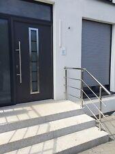 Edelstahl Geländer Handlauf Treppengeländer V2A Treppe 2 lfm