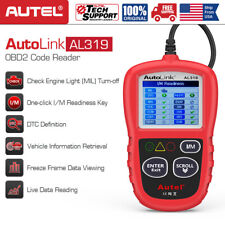 Autel AL319 OBD Check Engine Light Car Diagnostic Tool OBD2 Code Reader Scanner