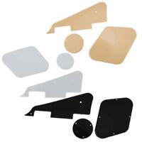 Plastic Pickguard Scratch Plate Cavity Switch Cover Set for Les Paul LP Guitar