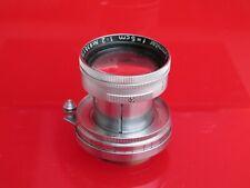 "Leica SM LTM 5cm 50mm f:2 late model Summitar lens, #935xxx' NICE ""LQQK"""