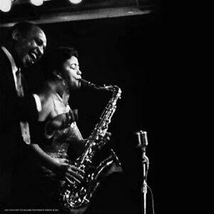 LIONEL HAMPTON & ELSIE SMITH JAZZ MUSIC POSTER-TED WILLIAMS, CHICAGO 1956- 12x12