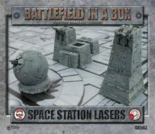 Battlefield in a Box Space Station Lasers Gelände Terrain X-Wing Armad Star Trek