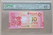 2015 China Macau 10 Patacas Commemorative PMC 68EPQ