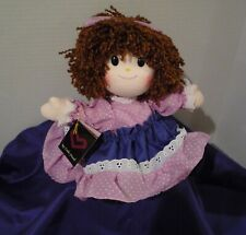 Vintage Faratak My Little Friend Wind Up Musical Doll Head Moves
