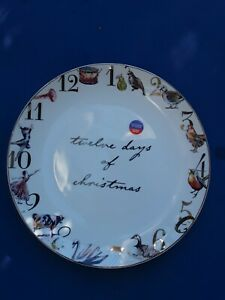 BETTER HOMES & GARDENS TWELVE DAYS OF CHRISTMAS PLATE(S) BOWLS CAKE STAND 26 PCS