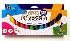 LITTLE BRIAN Paint Sticks Fabric Assorted 12