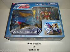 Zeus Gundam & Mobile Chariot from G Gundam action figure playset Bandai America