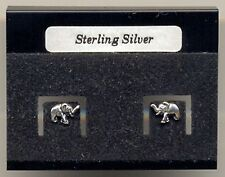 Baby Elephant Sterling Silver 925 Studs Earrings Carded