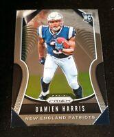 2019 Prizm DAMIEN HARRIS RC ROOKIE CARD New England Patriots