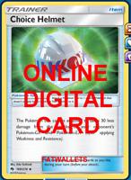 4X Choice Helmet 169/214 Lost Thunder Pokemon TCG Online Digital Card