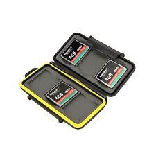 JJC MC-CF6 Rubber Sealed Waterproof Memory Card Hard Case Holder for 6x CF Cards