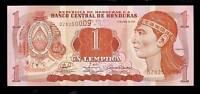 World Paper Money - Honduras 1 Lempira @ Crisp UNC