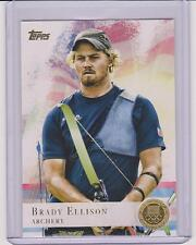 2012 TOPPS OLYMPIC BRADY ELLISON ARCHERY GOLD CARD #25 ~ MULTIPLES