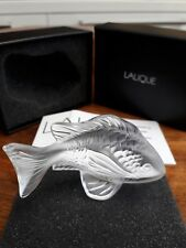 LALIQUE Donzella Pesci Pesce chiaro 3025000, Nuovo di zecca in scatola!