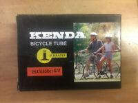 26x1 650C Kenda Schrader Bike Tube 571ISO Schwinn S-7 26 x 1, 1 1/8 3/4 Charity!