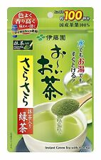 ITOEN matcha green tea with smooth green tea 80g Shipping from Japan