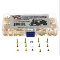330PCS Metal Screws Parts For 1/10 RC Car Axial SCX10 Traxxas TRX-4 HSP 94111