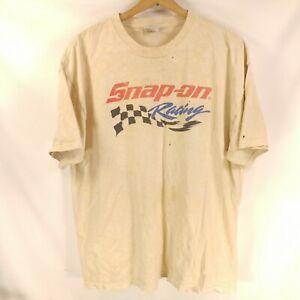 VTG Doug Herbert Snap On Racing Doug Zilla Double Sided T-Shirt XL