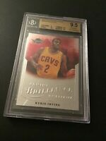 2012-13 Panini Brilliance #260 Kyrie Irving RC BGS 9.5 Gem Mint w/10 surface
