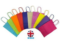 Bright Paper Gift Bags - Party Bag With Handles - Recyclable Birthday Loot Bag