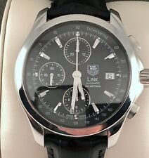 TAG Heuer Calibre 16 Chronorgraph Mens Watch in Excellent Cond Model CJF2110
