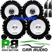 ALPINE VW Golf MK3 1000 Watts Front Door &  Rear Side Car Speakers Upgrade Kit