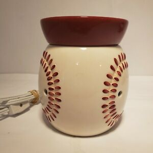 SCENTSY BASEBALL Play Ball Sports Full-size Electric Warmer Collectible NO BOX