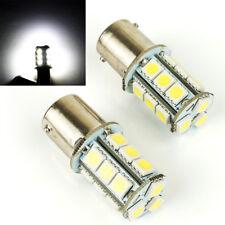 2 PC WHITE LED TAIL LIGHT CAR BULB LAMP TURN SIGNAL HEAD LIGHTS S2